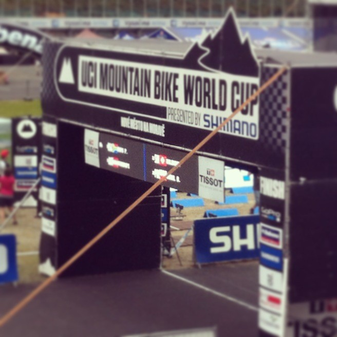 Nove Mesto Start Gantry